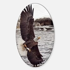 Vertical Eagle Decal