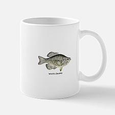 White Crappie Logo Mug