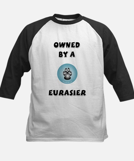 Owned by an Eurasier Kids Baseball Jersey