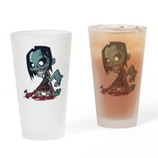 Bloody Zombie Drinking Glass