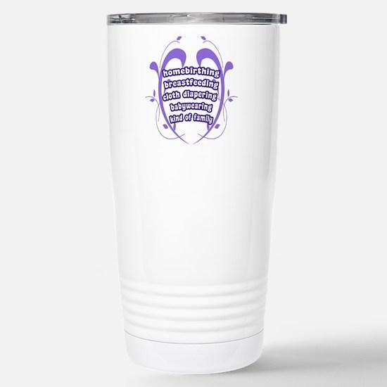 Crunchy Family Stainless Steel Travel Mug