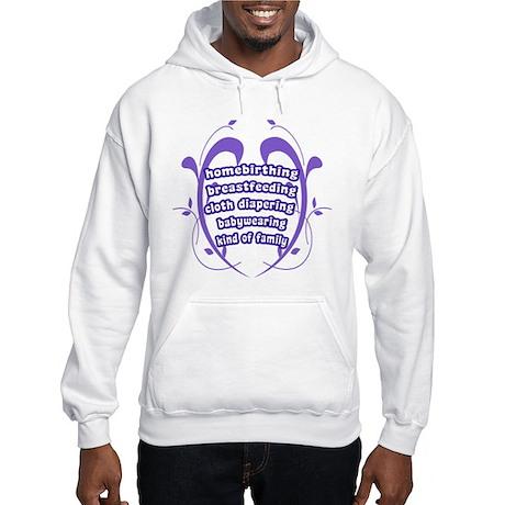 Crunchy Family Hooded Sweatshirt