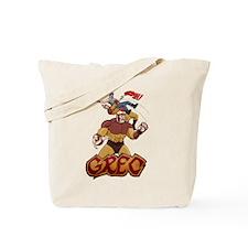 MMA Superhero Grec Tote Bag