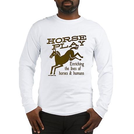 horseplay 1 - 10x10 Long Sleeve T-Shirt