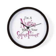 Super Nurse Wall Clock