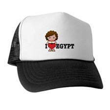 I Love Eygpt Trucker Hat