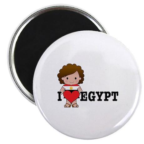 """I Love Eygpt 2.25"""" Magnet (10 pack)"""