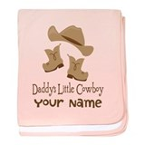 Personalized cowboy Blanket