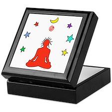 Yogi Electric (red) Keepsake Box