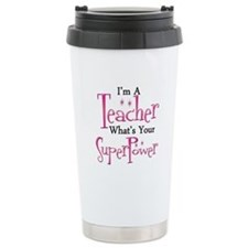 Unique Teacher Travel Mug