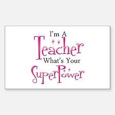 Super Teacher Stickers