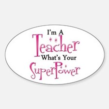 Super Teacher Decal