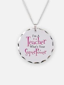 Super Teacher Necklace