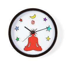 Yogi Electric (red) Wall Clock