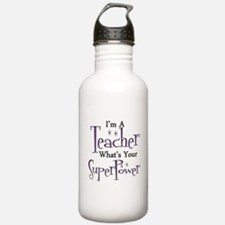 Super Teacher Sports Water Bottle