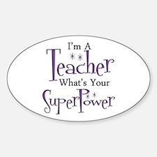Super Teacher Decal