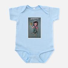 Pineapple Princess Annette Infant Bodysuit