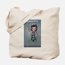 Pineapple Princess Annette Tote Bag
