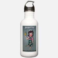 Pineapple Princess Annette Water Bottle