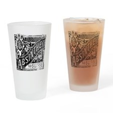 Old Absinthe logo Drinking Glass