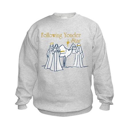 Following Yonder Star Kids Sweatshirt