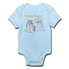 Following Yonder Star Infant Bodysuit