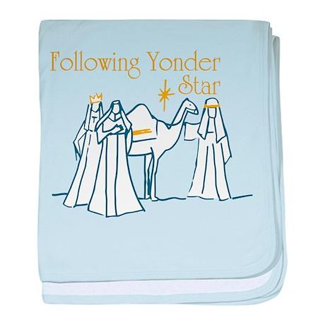 Following Yonder Star baby blanket
