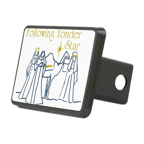 Following Yonder Star Rectangular Hitch Cover