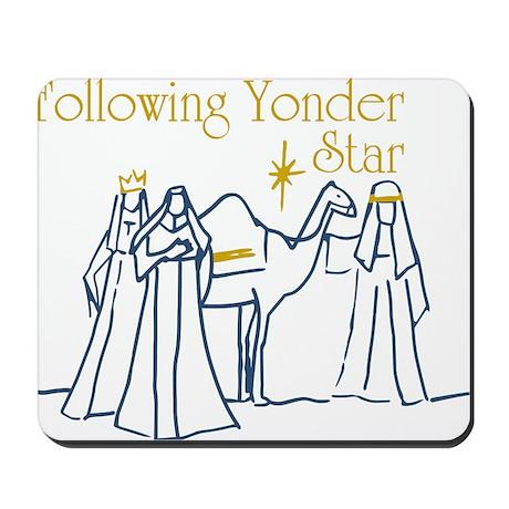 Following Yonder Star Mousepad
