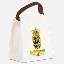 Denmark COA(Flag 10).png Canvas Lunch Bag