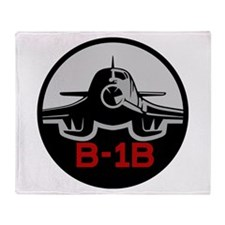 B-1B Lancer Throw Blanket