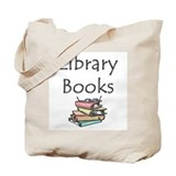 Library Regular Canvas Tote Bag