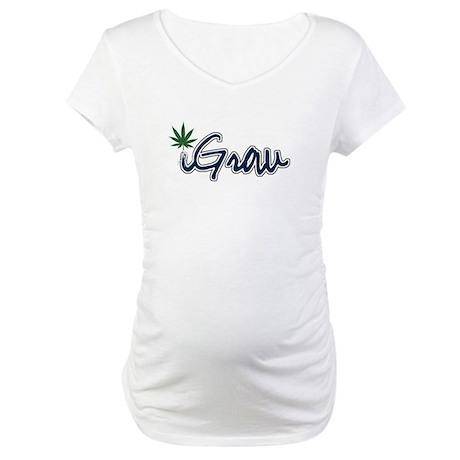 Sticker Maternity T-Shirt