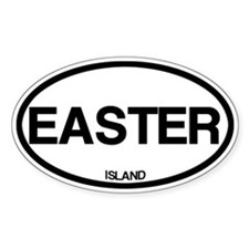 Easter Island Bumper Stickers