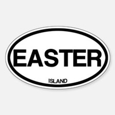 Easter Island Decal