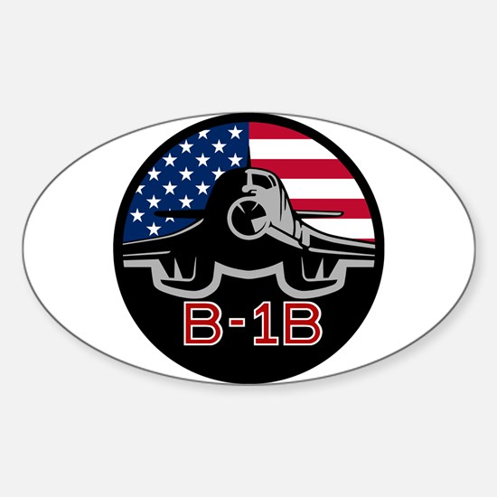 B-1B Lancer Sticker (Oval)