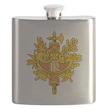 French National Emblem.png Flask
