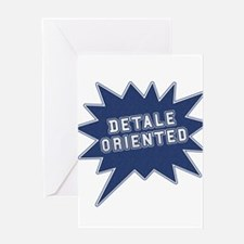 Detale Oriented Greeting Card