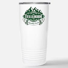 Telluride Mountain Emblem Stainless Steel Travel M