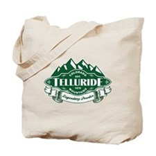 Telluride Mountain Emblem Tote Bag