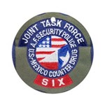 Joint Task Force 6 Ornament (Round)