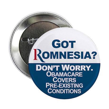 "Got Romnesia? 2.25"" Button"