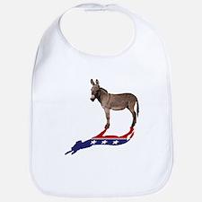 Dem Donkey Shadow Bib