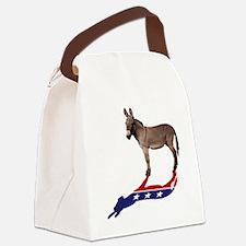 Dem Donkey Shadow Canvas Lunch Bag