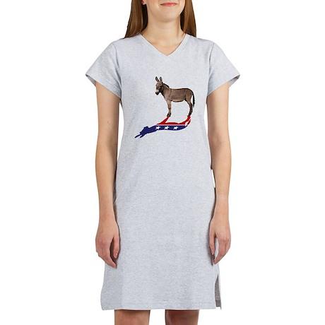 Dem Donkey Shadow Women's Nightshirt