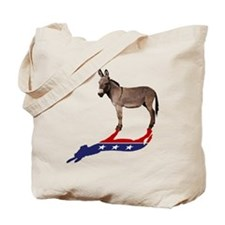 Dem Donkey Shadow Tote Bag