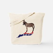 Dem Donkey Shadow Tote Bag