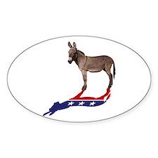 Dem Donkey Shadow Stickers