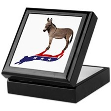 Dem Donkey Shadow Keepsake Box