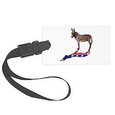 Dem Donkey Shadow Luggage Tag